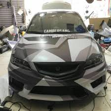 Orino Black Grey White Vinyl Wrap Camouflage Car Wrap Sticker With Ar Free For Vehicle Motors Wrapping Decal Leather Bag