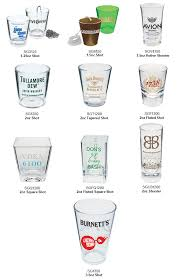 custom imprinted plastic shot glasses