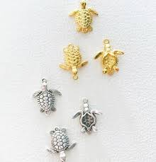 turtle charms 24k gold plated charm