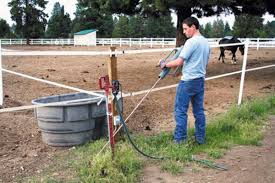 Ground An Electrical Fence Properly In Horse Pastures Paddocks And Arenas Expert Advice On Horse Care And Horse Riding
