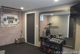 frame a large mirror home gym mirrors