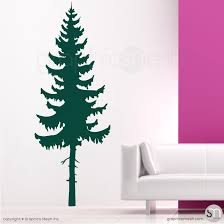 Pine Tree Wall Decals Decorative Wall Appliques Graphicsmesh