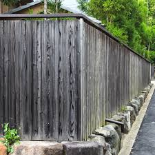 Shou Sugi Ban Fencing And Japanese Ko Ushi Privacy Screens Nakamoto Forestry