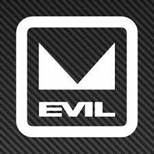 5 Evil Logo Vinyl Sticker Decal Car Window Mountain Bike Mtb Ebay
