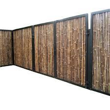 Eco Friendly Cheap Natural Black Artificial Bamboo Fence Bamboo Panels Buy Cheap Bamboo Fencing Black Bamboo Fence Garden Panels Product On Alibaba Com