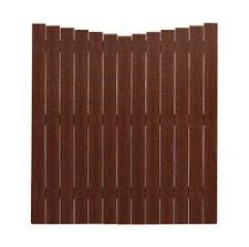 6 X 6 Composite Scalloped Fence Panel Material List At Menards