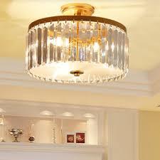 simplicity flush mount drum light