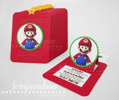 Invitaciones De Mario Luigi En 2020 Invitaciones De Mario Bros