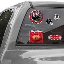 Official Atlanta Falcons Car Decal Falcons Window Decal Window Decal For Cars Nflshop Com