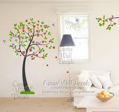 Vinyl Wall Decals Tree Wall Decals Green Cuma Wall Decals