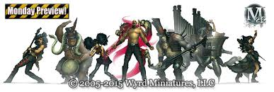 NEW Malifaux Goodies On the Way From Wyrd - Spikey Bits