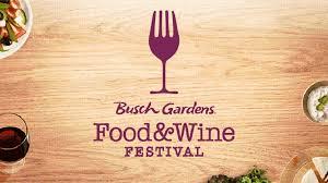 busch gardens ta bay food wine