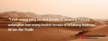 kata mutiara ali bin abi thalib tentang hidup ilmu cinta teman dan