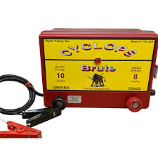 Cyclops Brute 12v Battery Dc 8 Joule Electric Fence Charger Up To 100 Acres