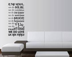 Everything Happens For A Reason Wall Saying Vinyl Lettering Art Decal Quote Sticker Home Decal By Kiss Me Good Night Wall Say Life Is Not Measured By The Breaths We Take But
