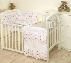 nursery bedding sets unicorn on pink