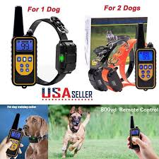 Wireless Dog Fence Pet Containment System Waterproof Electric Transmitter Collar Https Qdiz Com P 10397 With Images Dog Training Collar Dog Training Waterproof