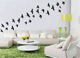 Flock Of Flying Birds Wall Stickers Bird Wall Decal Etsy