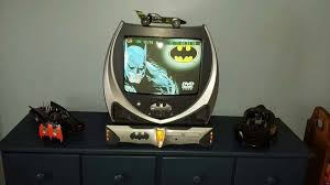 Batman Tv And Dvd Player Bought Off Craigslist With Images Batman Room