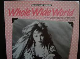 Whole Wide World / A'me Lorain / Easy Piano Vocal Guitar: Elliot ...