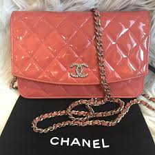 chanel bags quilt patent leather