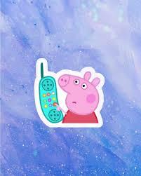 peppa pig wallpaper telephone