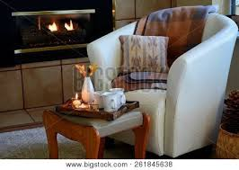 comfort with soft leather bucket chair