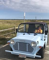 Moke Madness Comes To Martha S Vineyard Fun Moke Electric Vehicle