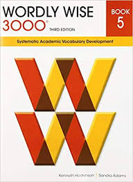 Amazon.fr - Wordly Wise 3000 Book 5: Systematic Academic Vocabulary  Development - Hodkinson, Kenneth, Adams, Sandra ...