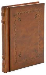 giglio brown italian leather journal
