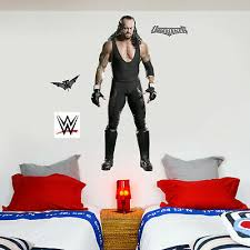 Small Or Large Stickers Decals Wwe Raw Logo Bedroom Wrestling Wall Sticker Pack