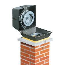 electrical powered mechanical chimney fan