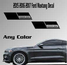 Product 2015 2016 2017 Ford Mustang Fender Vinyl Decal Sticker Ecoboost 2 3 Turbo Car