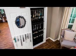 how to diy a built in jewelry organizer
