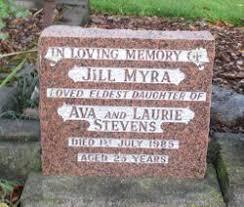 Jill Myra Stevens (1960-1985) - Find A Grave Memorial