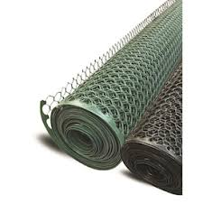 Boen 3x25 Ft Plastic Garden Hex Fence Green In The Garden Fencing Department At Lowes Com