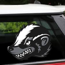 New Removable Reusable Stickers For Car Head Of Honey Badger Home Car Stickers And Decals Car Styling Body Window Door Sticker Car Stickers Aliexpress