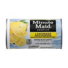 minute maid premium lemonade frozen