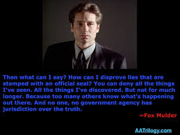 fox mulder no government agency has jurisdiction quote ray