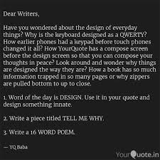dear writers have you w quotes writings by baba