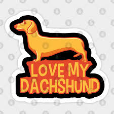love my dachshund gifts for dachshund