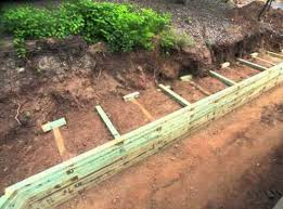 build a wood retaining wall building