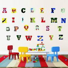 26 Alphabet Letters Diy Vinyl Animal Wall Sticker Decal For Kids Play Room Decor For Sale Online Ebay