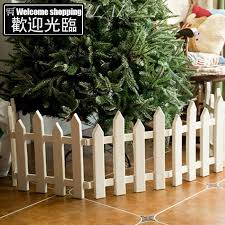 Christmas Ornaments Plastic Pvc Fence Christmas Decoration S Shopee Philippines
