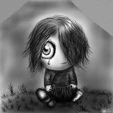 اجمل الصور الكرتونية الحزينة المعبرة عن الألم و الحزن