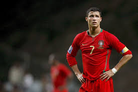 football player cristiano ronaldo