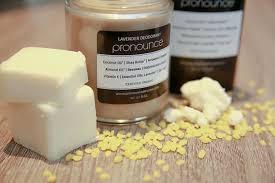 easy homemade deodorant recipe