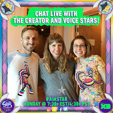 Disney XD Animation — Join our Live-Chat with Adam McArthur,...