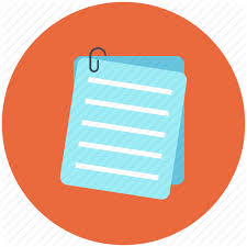 Document, letter, note, pad, paper icon icon