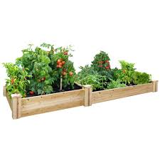 Cedar Raised Garden Bed Rc 4c8t2 The H 59890 Png Images Pngio